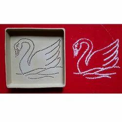 Swan Dotted Rangoli
