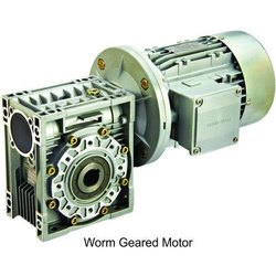 Three Phase 1 HP Worm Geared Motor