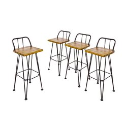 Astonishing Bar Metal Chair Ibusinesslaw Wood Chair Design Ideas Ibusinesslaworg