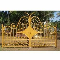 Mild Steel Security Gate