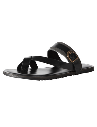 aa9209265939 Men Van Heusen Black Sandals
