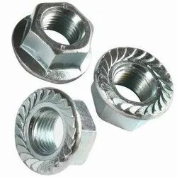 ONEGRIP Hex Flange Nut, Size: M4 To M16