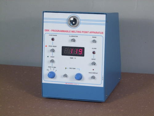 Stainless Steel Melting Point Apparatus, Voltage: 220 V