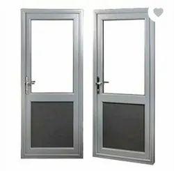 Aluminium Doors shilver