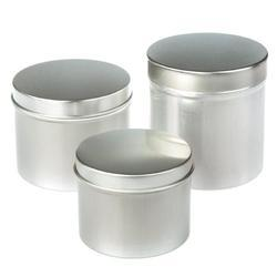 Tin Container, Tin Canister, Tin can