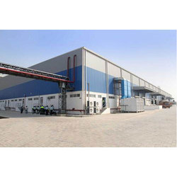 MS Hot Rolled Prefabricated Factory Building, Thickness: 6 To 25mm