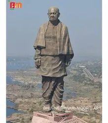 Replica of Statue of Unity in Black Marble