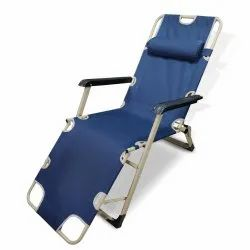 Kawachi Folding Indoor Outdoor Home Beach Garden Recliner Deck Chair