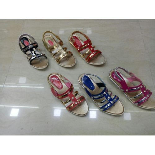 9ab515b851390 Multi Girls Fancy Sandal, Size: 7x10, 11x1, 2x5, Rs 200 /pair | ID ...