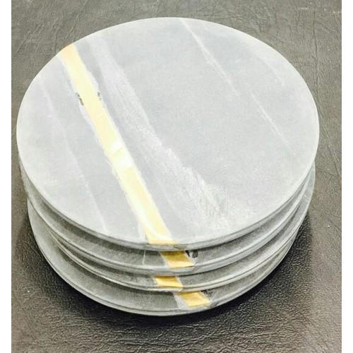 Grey Marble Coaster Rs 285 Set Vidhi Enterprises Id 15849429833