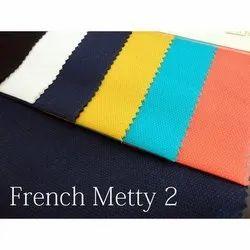 Bird Eye Cotton Dobby Shirting Fabric