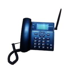 Black VisionTek 21G Fixed Wireless GSM Corded Phone