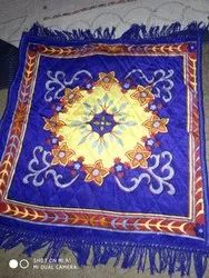 Blue Polyester Puja Mat, Packaging Type: Polybag, Size: 70x110 Cm