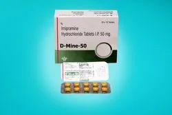 Imipramine 50 mg Tablets