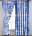 Cotton Shibori Curtain Valances