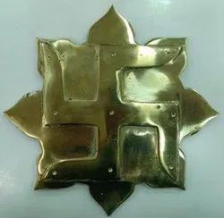 Vastu Lotus Swastik Plate