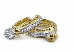 CZ American Diamond Baali Earring