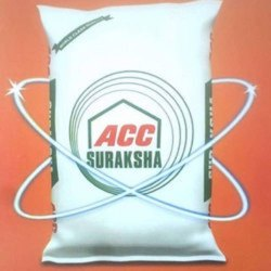 PPC (Pozzolana Portland Cement) Acc Suraksha Cement, Packing Size: 50 Kg, Packaging Type: PP Sack Bag