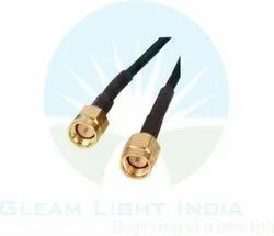 RF Cable Assemblies SMA Male To SMA Male In LMR 300
