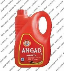 Angad 2L Kachi Ghani Mustard Oil, Packaging Type: Plastic Container