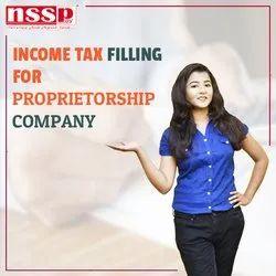 Income Tax Filling for Proprietorship Company