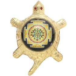 SSGJ Sri Yantra Tortoise Shape Yantra Puja Article Kachua Yantra Kaal Sarp Yoga Kachua Yantra