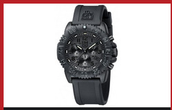 Luminox Black Dial And Face Watch