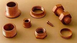 Broaching Hexagonal Copper & Brass Bolt & Nut, For Hardware Fitting