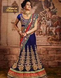 Ethenic Royal Designer Bule Saree