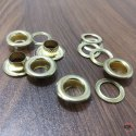 No. 1000 Brass Eyelets & Washers Golden