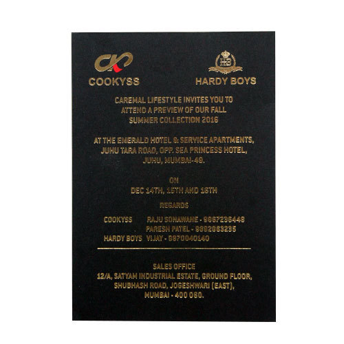 fancy invitation card anniversary invitation card personalized