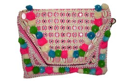 Vintage Rajasthani Boho Banjara Clutch Bag