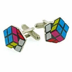 Cube Cufflink