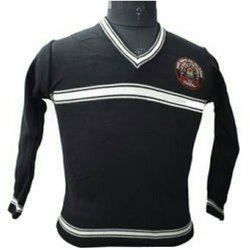 Black School Uniform Sweater