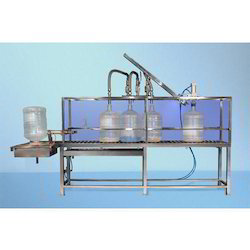 Jar Rinsing Filling Machine