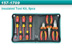 Whirlpower 157-1709 9pc Insulated Tool Kit- Electrician Tool Kit