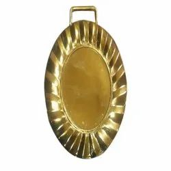 Oval Brass Medals