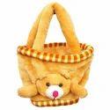 Yellow Basket Bag