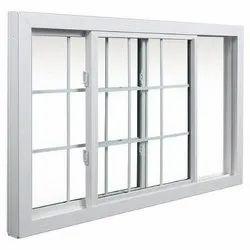 UPVC Tempered Glass Sliding Window