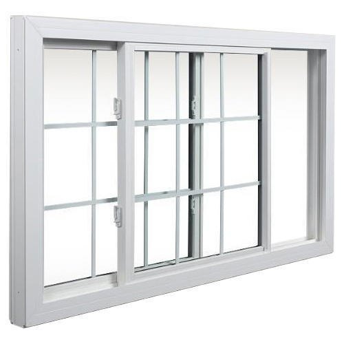 UPVC Tempered Glass Sliding Window