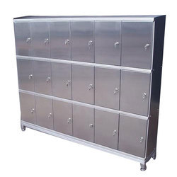 Stainless Steel And Ms Office Locker, For Industries