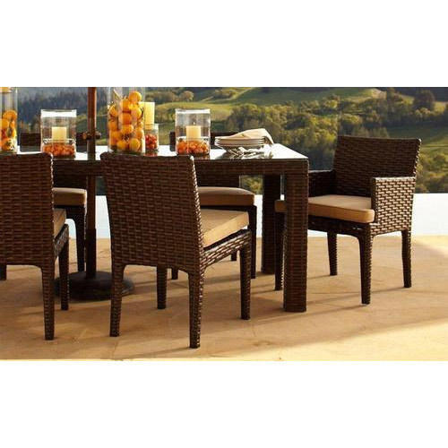 Cane Sofa Set Price In Delhi: Cane Dining Table Set At Rs 20000 /set