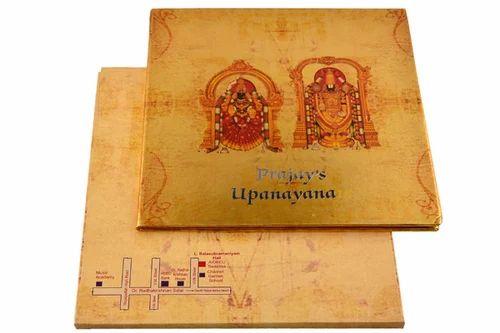 Upanayanam invitation at rs 150 piece invitation card id upanayanam invitation stopboris Gallery