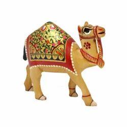 Wooden Rajasthani Love Animol Camel
