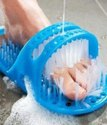 Waterproof Easy Foot Cleaner Shower Slipper