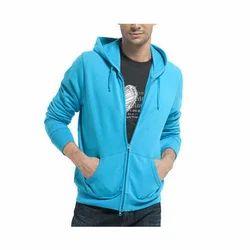 Mens Zipper Hoodie Sweatshirt