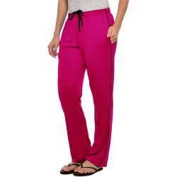 Stylcozy Pink Color Pocket Women Lower