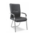 SPS-145 Black Leather Executive Chair
