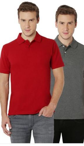 mille Claire Macchiato di sangue  Peter England Red And Grey T Shirts at Rs 980/piece | Men Polo T Shirt |  ID: 14425670088