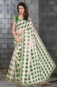 Exclusive Organza Checks Saree